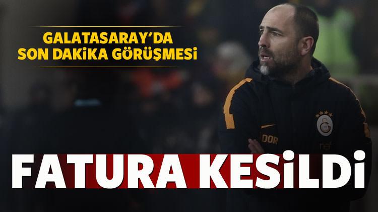 Galatasaray'da son dakika görüşmesi