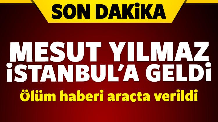 Mesut Yılmaz ve eşi Berna Yılmaz İstanbul'a geldi