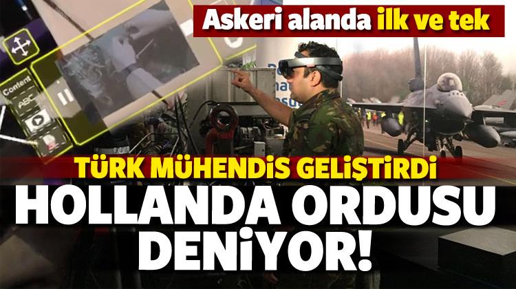 Türk mühendis geliştirdi, Hollanda ordusu deniyor