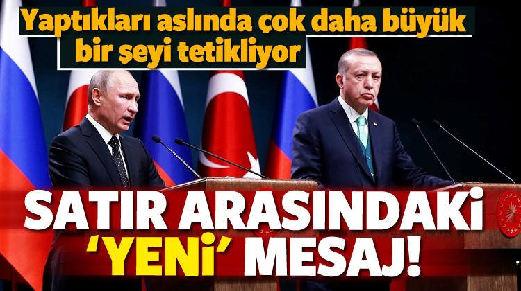 Türkiye ile Rusya'dan stratejik ortaklık