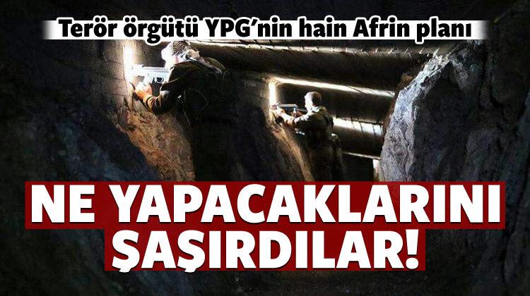 Terör örgütü YPG'nin hain Afrin planı!