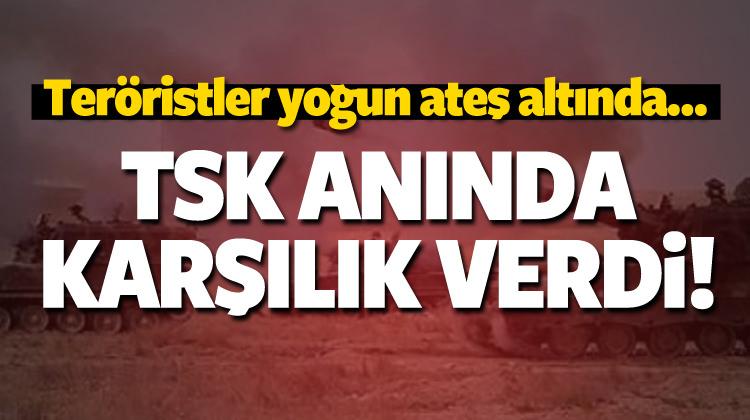 TSK, terör örgütü PYD hedeflerini vurdu!
