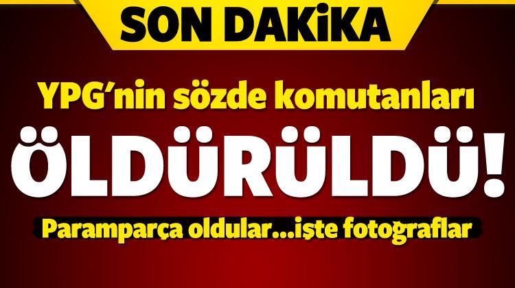 YPG'nin sözde komutanları öldürüldü!