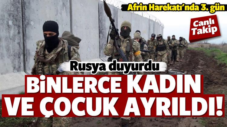 Harekatta 3. gün...YPG ile sıcak çatışma!