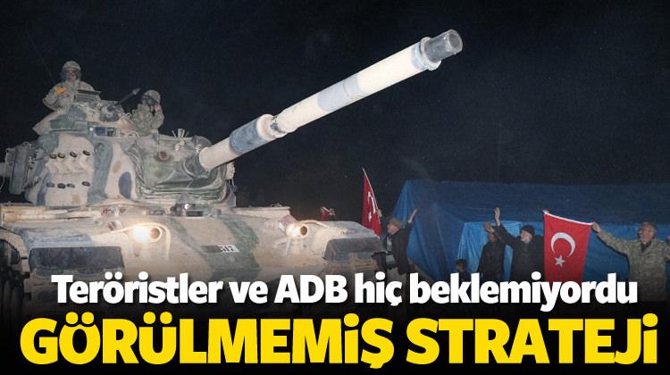 Zeytin Dalı Harekâtı'nda müthiş strateji