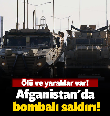 Afganistan'da bombalı saldırı! 12 ölü 1 yaralı
