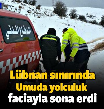 Göçmenler sınırda donarak öldü! Feci görüntüler..
