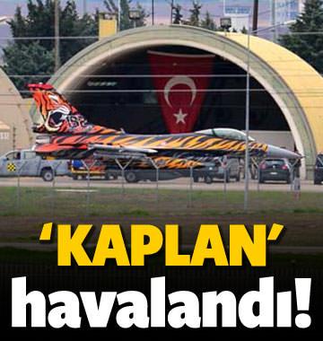 İncirlik'ten 'Kaplan' havalandı!