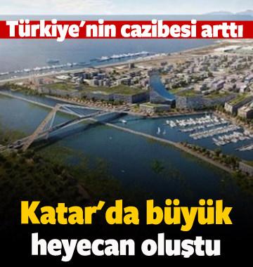 Kanal İstanbul, Katar'da büyük heyecan oluşturdu