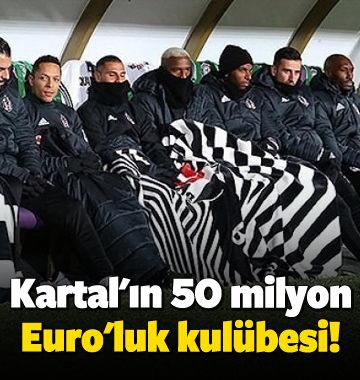 Kartal'ın 50 milyon Euro'luk kulübesi!