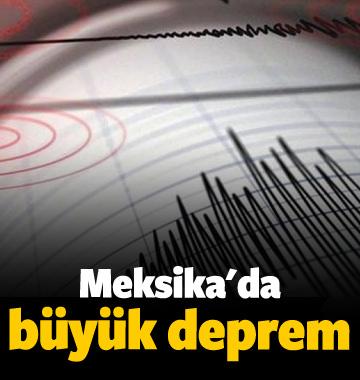 Meksika'da 6,5 büyüklüğünde deprem