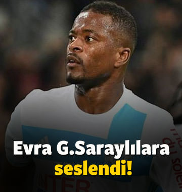 Patrice Evra Galatasaraylılara seslendi!