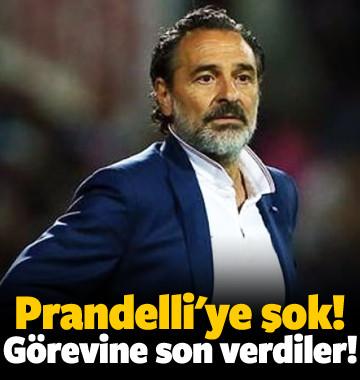 Prandelli'ye şok! Görevine son verdiler!